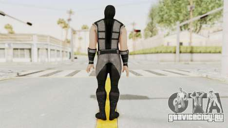 Mortal Kombat X Klassic Human Smoke для GTA San Andreas третий скриншот