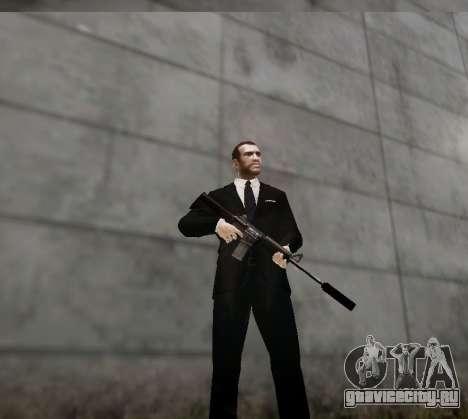 Глушитель на оружие для GTA 4 четвёртый скриншот
