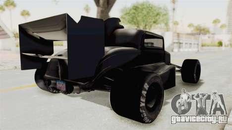 Ford 32 F1 для GTA San Andreas вид сзади слева