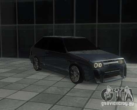 VAZ 2108 для GTA San Andreas вид изнутри