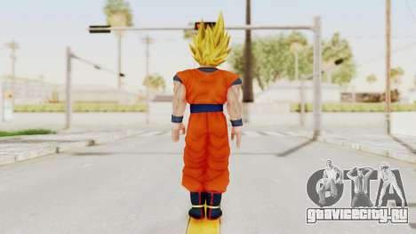 Dragon Ball Xenoverse Goku SSJ1 для GTA San Andreas третий скриншот