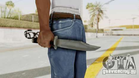 Liberty City Stories - Knife для GTA San Andreas третий скриншот