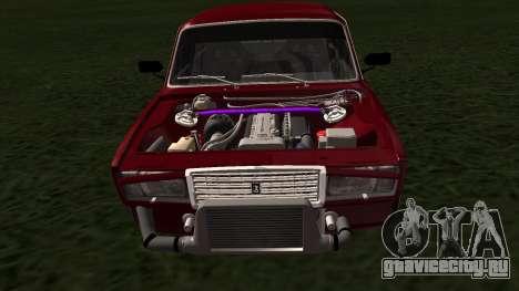 ВАЗ 2107 JDM для GTA San Andreas вид справа