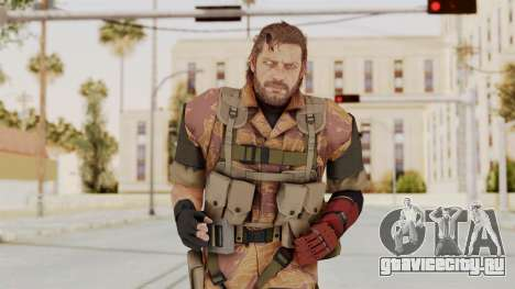 MGSV The Phantom Pain Venom Snake No Eyepatch v5 для GTA San Andreas