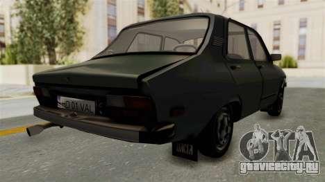 Dacia 1310 Funingi Taraneasca для GTA San Andreas вид сзади слева