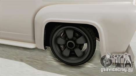GTA 5 Slamvan Race для GTA San Andreas вид сзади