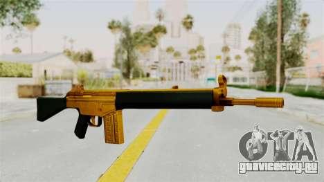 G3A3 Gold для GTA San Andreas