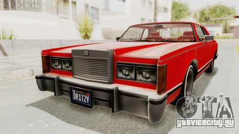 GTA 5 Dundreary Virgo Classic Custom v2 для GTA San Andreas