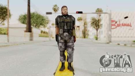 MGSV The Phantom Pain Venom Snake No Eyepatch v7 для GTA San Andreas второй скриншот