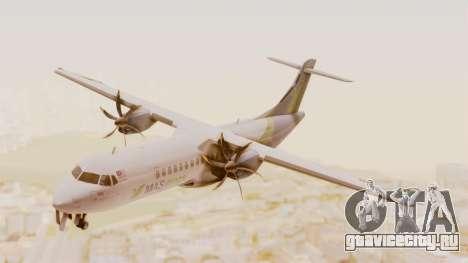 ATR 72-500 MASwings для GTA San Andreas вид сзади слева