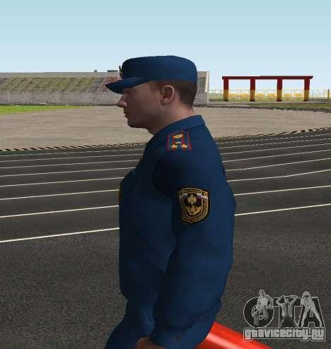 Полковник МЧС России для GTA San Andreas третий скриншот
