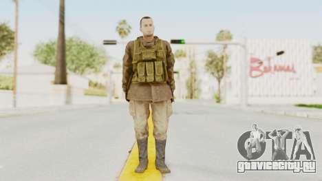 MGSV The Phantom Pain Soviet Union Sniper для GTA San Andreas второй скриншот