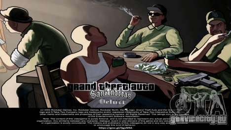 Подгрузками из Сан Андреас Делюкс для GTA San Andreas