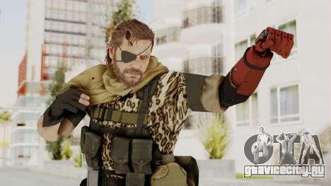 MGSV The Phantom Pain Venom Snake Scarf v8 для GTA San Andreas