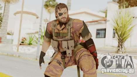 MGSV The Phantom Pain Venom Snake Golden Tiger для GTA San Andreas