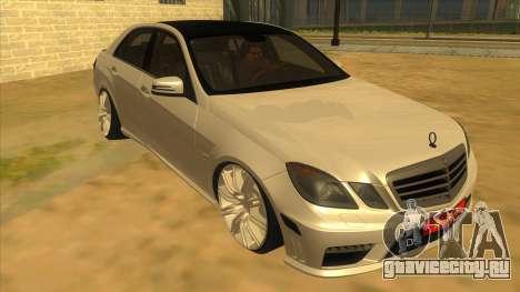 Mercedes Benz E250 Makam Aracı для GTA San Andreas вид сзади