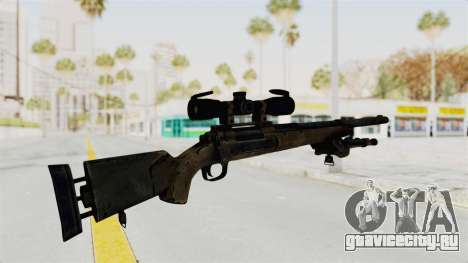 M24 Sniper Ghost Warrior для GTA San Andreas третий скриншот