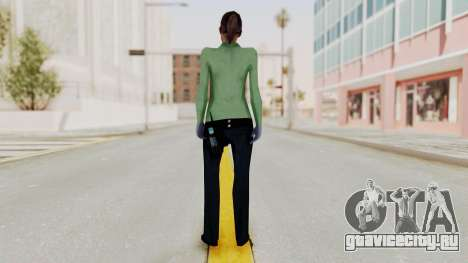 Female Medic Skin для GTA San Andreas третий скриншот
