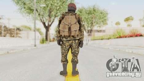 COD Black Ops Russian Spetznaz v4 для GTA San Andreas третий скриншот