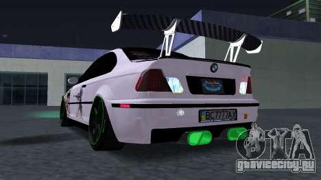 BMW M3 E46 JDM для GTA San Andreas вид справа