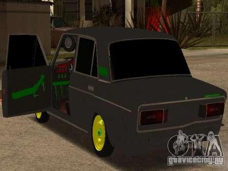 ВАЗ 2106 Шаха для GTA San Andreas вид слева