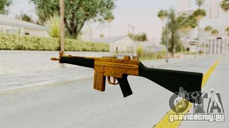 G3A3 Gold для GTA San Andreas второй скриншот