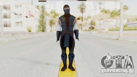 Mortal Kombat X Klassic Sub Zero v2 для GTA San Andreas второй скриншот