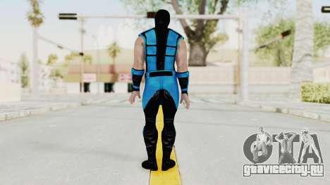 Mortal Kombat X Klassic Sub Zero UMK3 v1 для GTA San Andreas третий скриншот