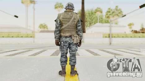 COD BO Russian Spetznas Flak MP v2 для GTA San Andreas третий скриншот