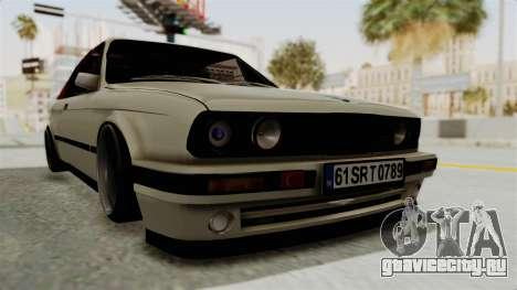 BMW M3 E30 для GTA San Andreas вид справа