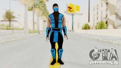 Mortal Kombat X Klassic Sub Zero UMK3 v1 для GTA San Andreas второй скриншот