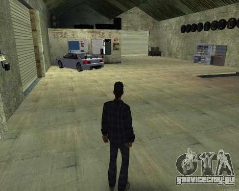 Интерьер СТО San Fierro для GTA San Andreas второй скриншот