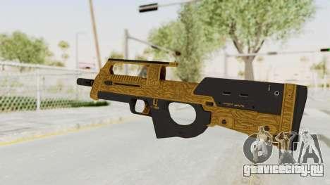 Assault SMG Lux для GTA San Andreas второй скриншот