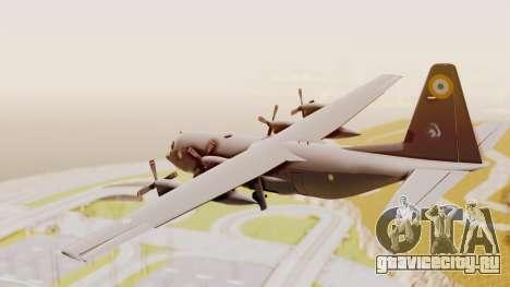 C130 Hercules Indian Air Force для GTA San Andreas вид справа