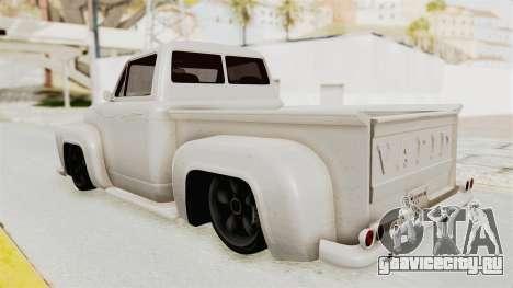 GTA 5 Slamvan Stock для GTA San Andreas вид слева