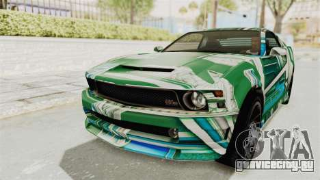GTA 5 Vapid Dominator v2 IVF для GTA San Andreas колёса