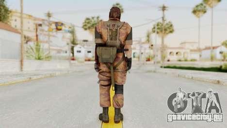 MGSV The Phantom Pain Venom Snake Golden Tiger для GTA San Andreas третий скриншот