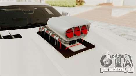 Mercedes-Benz SLS AMG 2010 Monster Truck для GTA San Andreas вид сзади