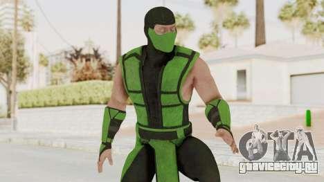 Mortal Kombat X Klassic Human Reptile для GTA San Andreas