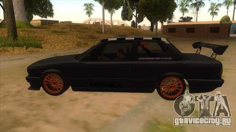 BMW 325i Turbo для GTA San Andreas вид слева