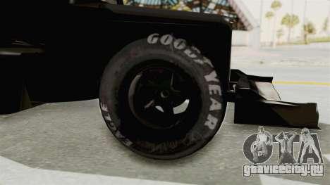 Ford 32 F1 для GTA San Andreas вид сзади