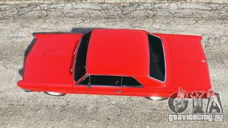 Pontiac Tempest Le Mans GTO 1965 v1.1 для GTA 5 вид сзади