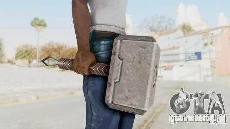 Marvel Future Fight - Mjolnir для GTA San Andreas