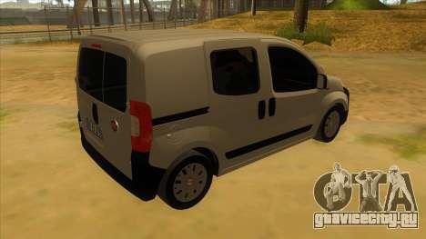 Fiat Fiorino Combi Mix для GTA San Andreas вид справа
