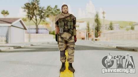 MGSV The Phantom Pain Venom Snake Sc No Patch v2 для GTA San Andreas второй скриншот