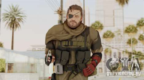 MGSV The Phantom Pain Venom Snake Scarf v1 для GTA San Andreas