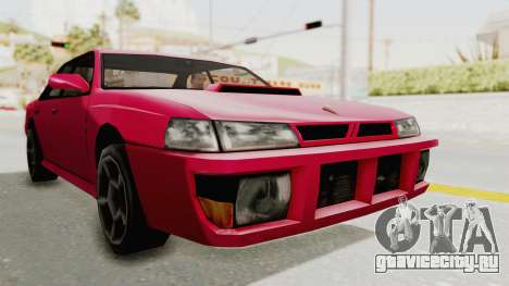 Kartin Sultan RS для GTA San Andreas вид сзади слева