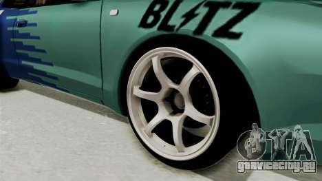 Toyota Celica GT Drift Falken для GTA San Andreas вид сзади