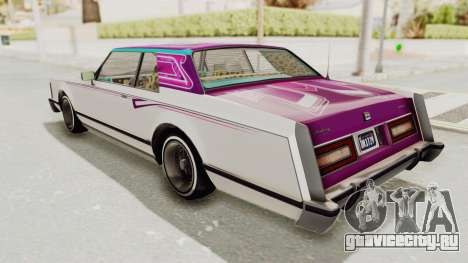 GTA 5 Dundreary Virgo Classic Custom v2 для GTA San Andreas колёса
