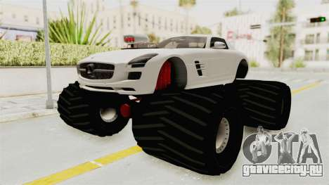 Mercedes-Benz SLS AMG 2010 Monster Truck для GTA San Andreas